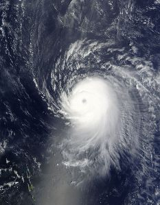 Ike near the Lesser Antilles, 07 September 2008. Photo: NASA
