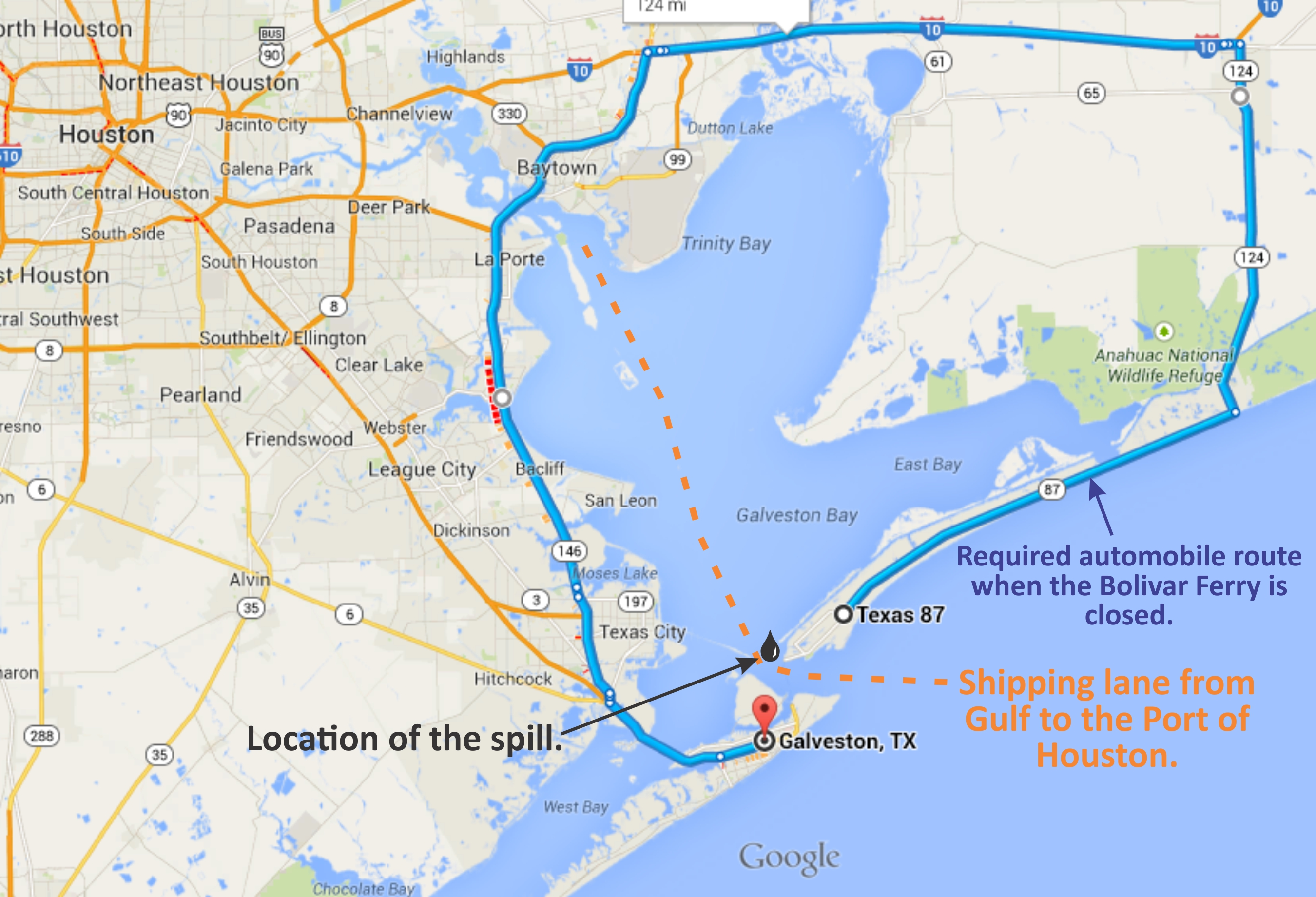 Map Of Houston Ship Channel Indiana Map - Port of houston map
