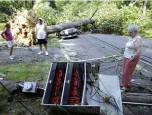 What's seriously wrong with this picture? Click to view our webinar on post-storm (and general) electricity safety webinar from last week presented by Warren Rogers of Connecticut Light & Power.