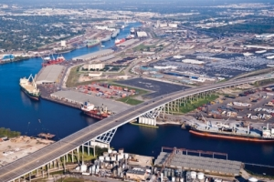 A small section of the Port of Houston.  Photo: Port of Houston Authority