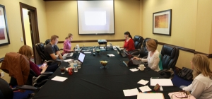 Continuity Housing's Global Account Management team. As always, we needed a bigger conference room this year.